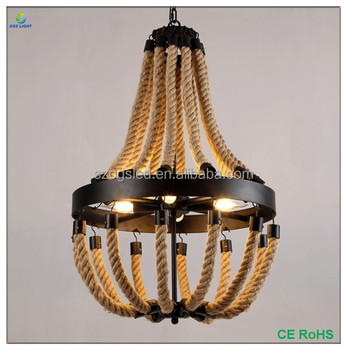 alibaba online shopping french style iron rope pendant light lamps