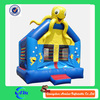funny inflatable bounce bouncy castle inflatable jumping house with octopus at the top