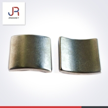 china foshan jinrong magnets factory product OEM service custom made Arc Neodymium Magnet