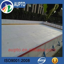 white pe synthetic ice hockey rink puck skill training uhmwpe floor