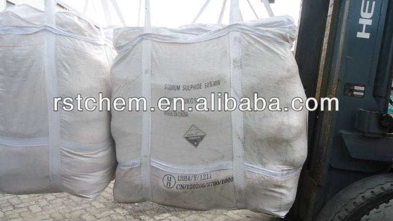 Supplying Sodium Sulphide 50% 30ppm yellow flakes