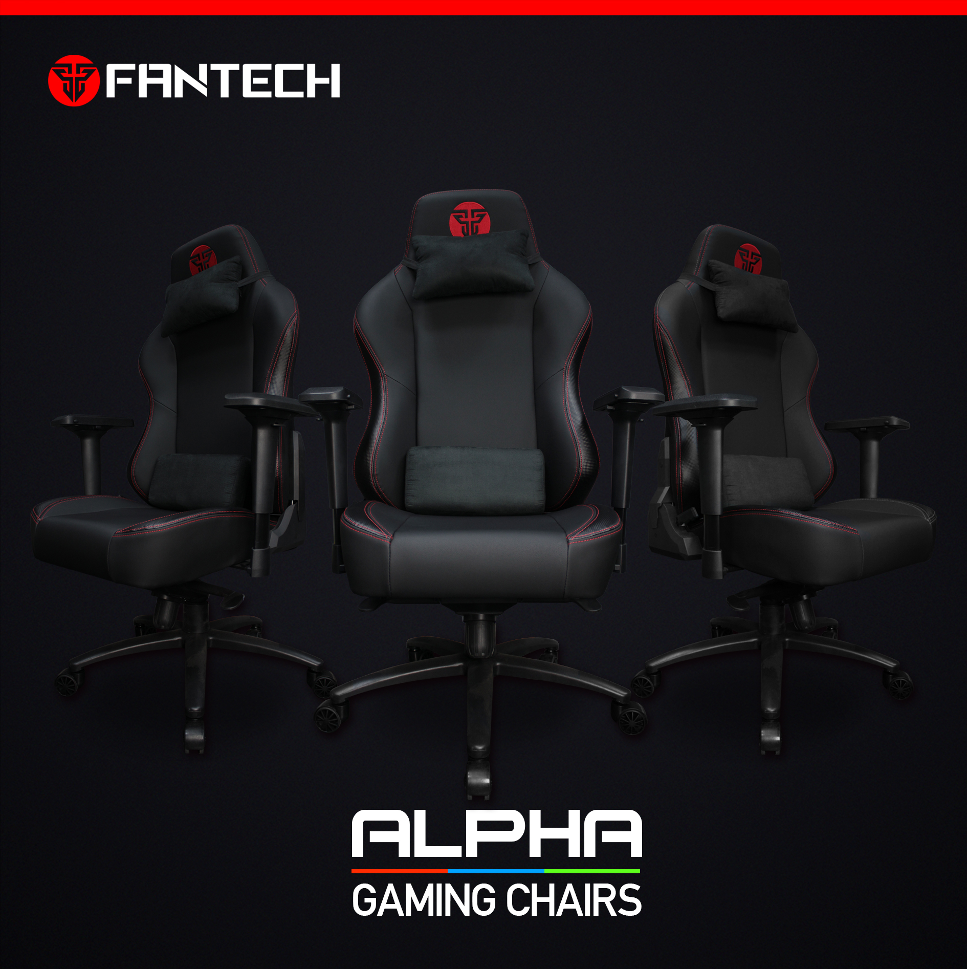 Fantech GC-183 Ergonomic Stability & Safety Gaming Chair 4