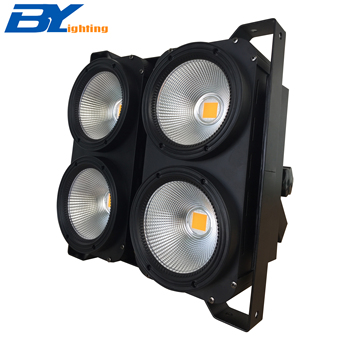 LED Blind Licht 4 ogen 4X100 W Warm Wit COB podium verlichting