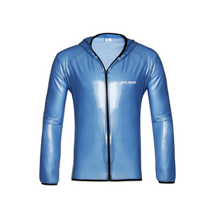 ZOLi ZL8031 Riding Gear Bicycle Raincoat Rain Pants Split Suits Woman Man Sports Breathable Waterproof Raincoat Coat