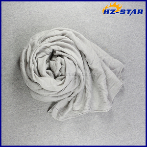 HZW-16074004 grey hijab fashion men for arabic muslim shawls and scarves india