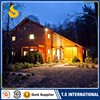 2017 Best selling Safe and stable one-story movable well-designed prefab house