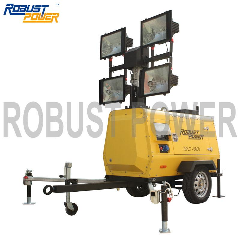 Rplt-6800 Metal Halide Industrial Usage Mobile Light Tower