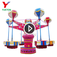 Professional Amusement Rides Manufacturer Funfair Kiddie Samba Ballon Ride