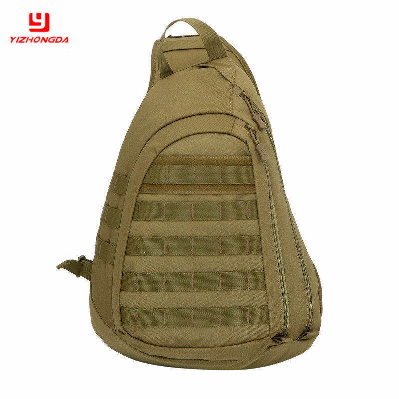 2017 Sport Climbing Chest Bag Waterproof Outdoor Nylon For Men fashion <strong>Shoulder</strong> Camping Tactical Small sling bag