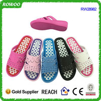 Women's Indoor Outdoor Open Toe Slip on EVA House Slippers