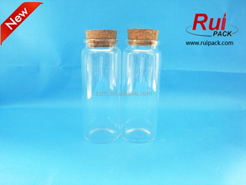 100ml 120ml Large Glass Test Tube With Corkdia253747 Glass Bottle