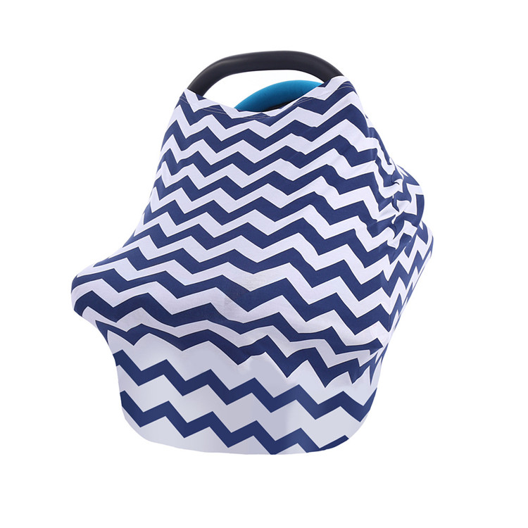 4 in 1 Car seat Canopy Nursing Cover Shopping Cart Cover Breastfeeding Cover