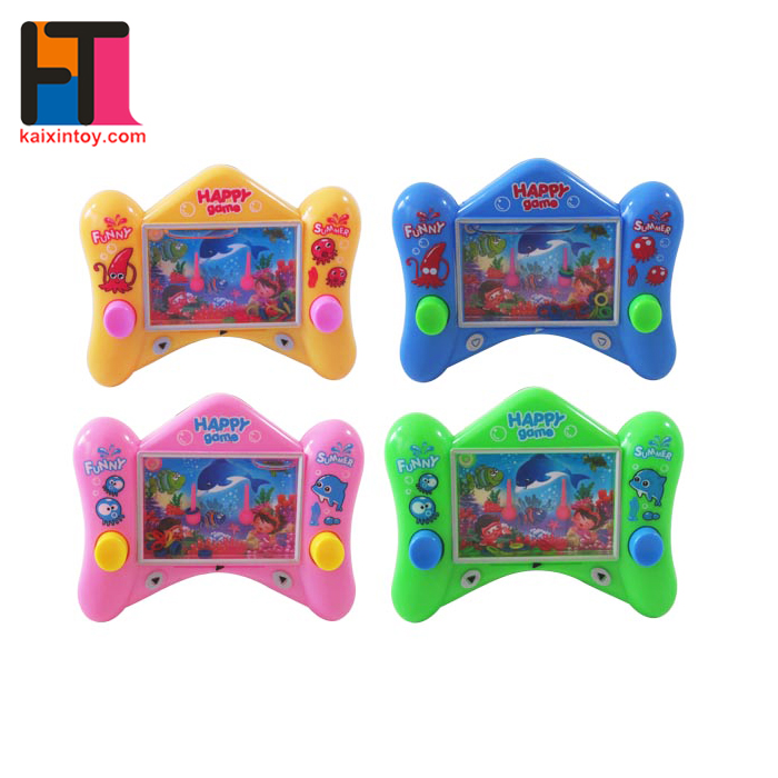 funny plastic handheld game toy water game for kids
