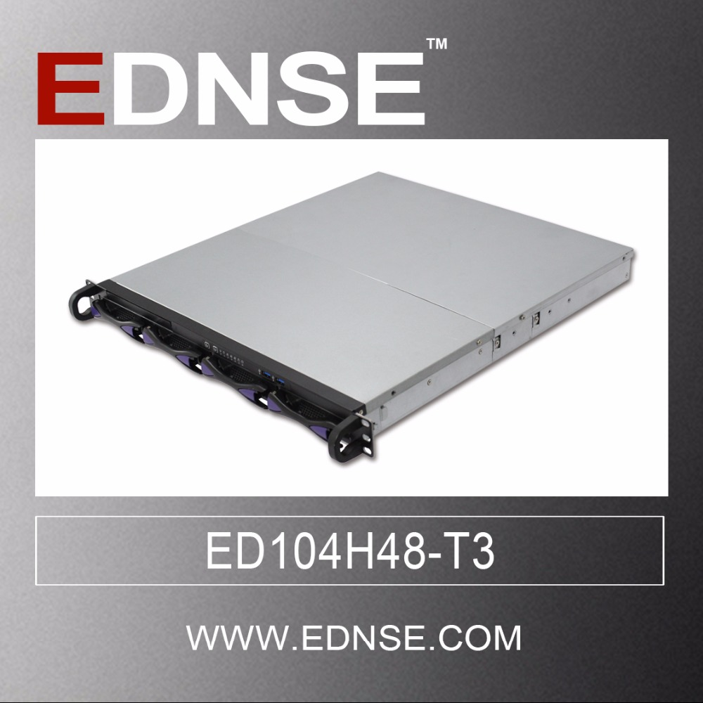 1U rack mount caso di server ED104H48