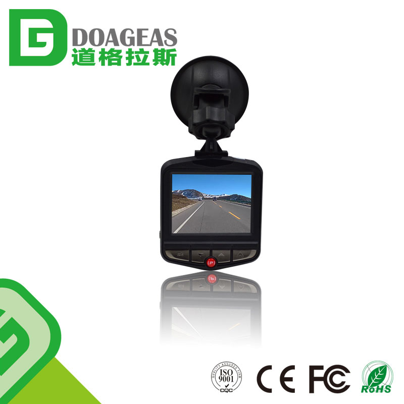 Dashboard Camera D9 FHD Mini Dash Cam Car Recorder with WDR G-Sensor Loop Recording One-Key Lock Camcorder
