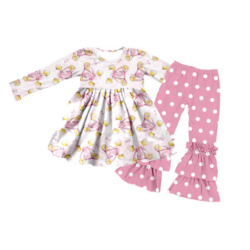 new summer baby girl wholesale children's boutique clothing toddler clothing for infant