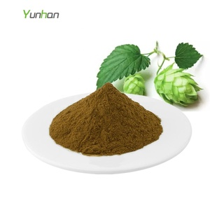 Beer Hops Strobile Extract Hops Flower Extract Powder Xanthohumol Humulus Lupulus Extract