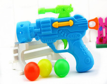 Free Shipping Children's Plastic Toy Gun Stretch Tennis Christmas Birthday Fun Outdoor Sports Color Random Small Gifts