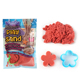 Creative Handmade Plasticine Magic Sand Toys with Sand Moulds for Kids