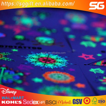 Glow In The Dark Star Sticker Paper For Home Decoration Luminous