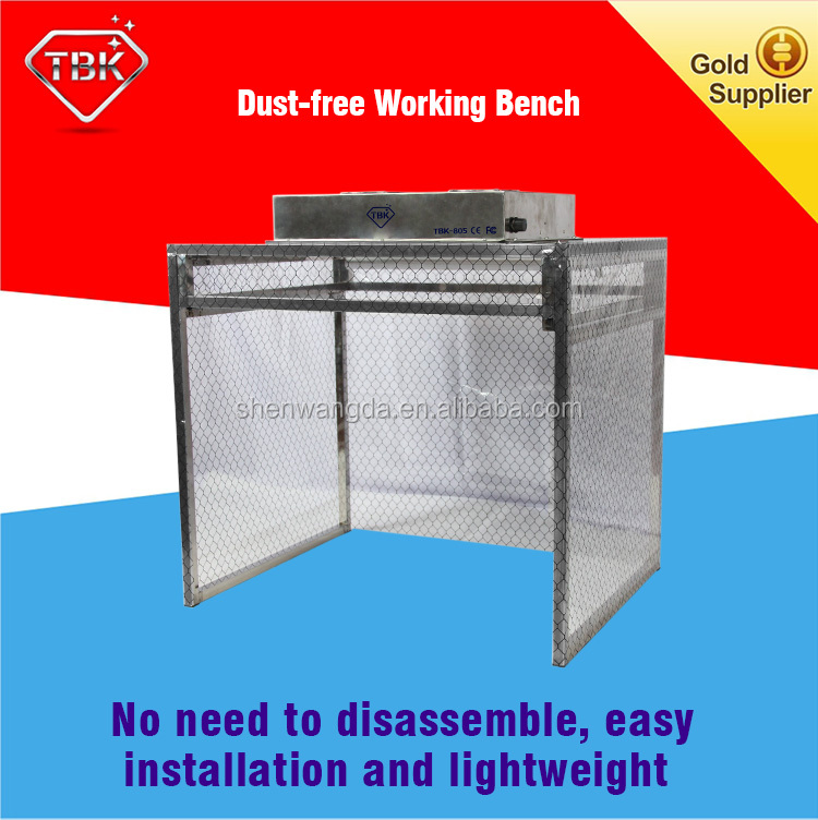 TBK Dry Dust Free room Anti Static Room Cleaning Room Anti-static Wall For Phone Refurbishment Repair Dust-free