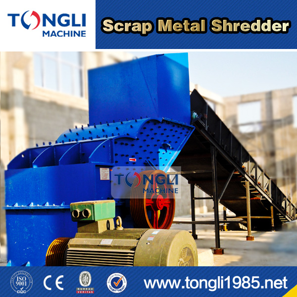 Demand Exceeding Supply Scrap Metal Recycling Equipment