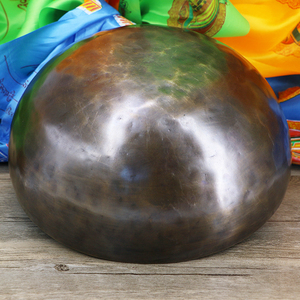 special chakra 7 metal antique healing high quality lingam singing bowl
