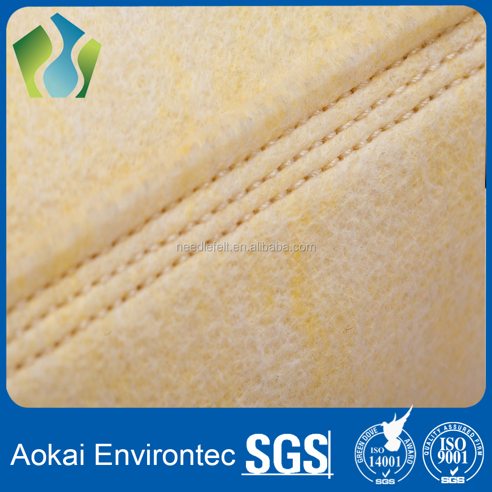 High temperature fiberglass of E-glass fiber needle felt