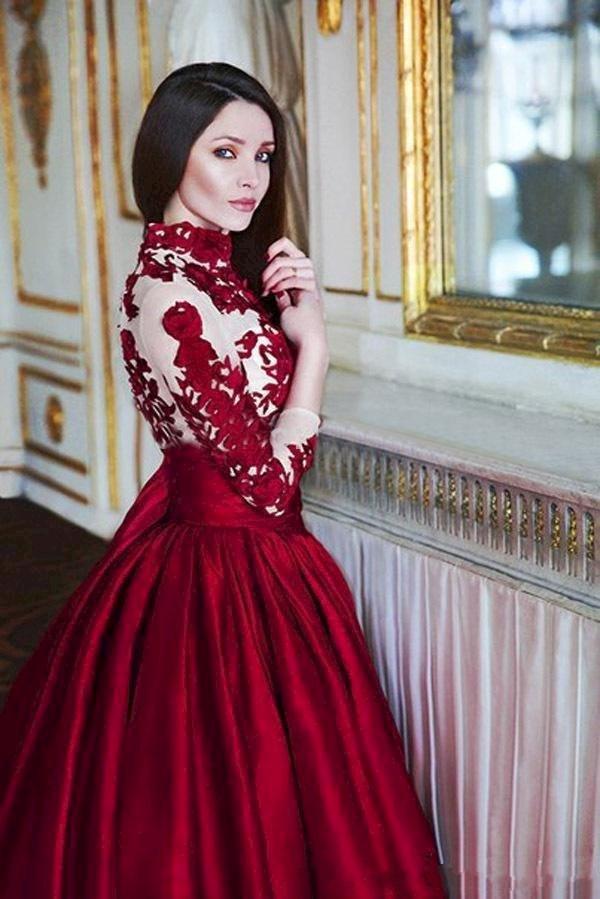 44c3c534324 Robe De Soirée Pour Jeune Fille Voilée