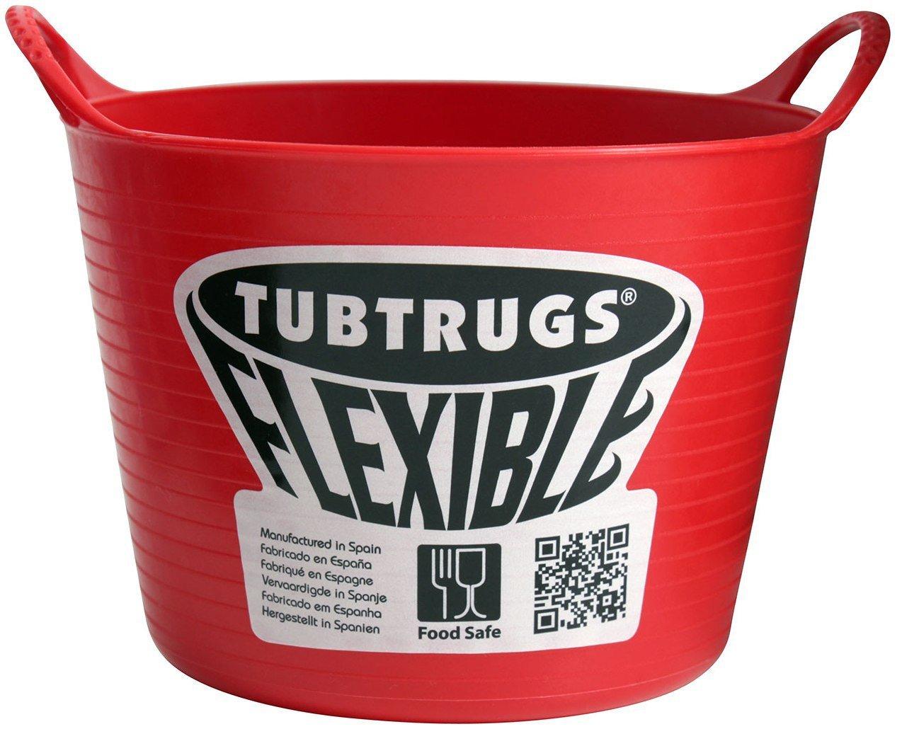 Tubtrugs SPMICR Flexible Red Micro .37 Liter/12.5 Ounce Capacity