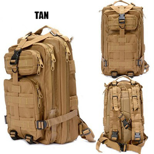 Men's Waterproof CompingHiking backpack Bag water resistant Canvas Military backpack