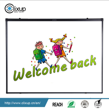 Dry erase 77/ 82 inch dual touch electronic smart interactive writing board