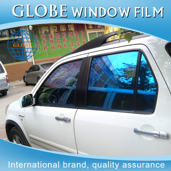 Russia india and ireland market windshield stickers use and letter type chameleon car window tint