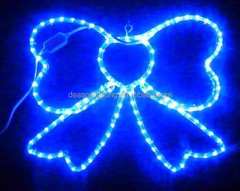 lighted christmas bows