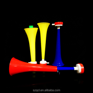 2018 Russia World Cup Hot Sale Cheering Horn Collapsible Colorful Cheering Vuvuzela Sport Horn Speaker