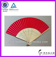 High Quality Handicraft Promotional Gift Hand Fan Custom Printed