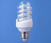 China cheapest top seller 2017 new half spiral shape LED energy saving light bulb 5W/7W