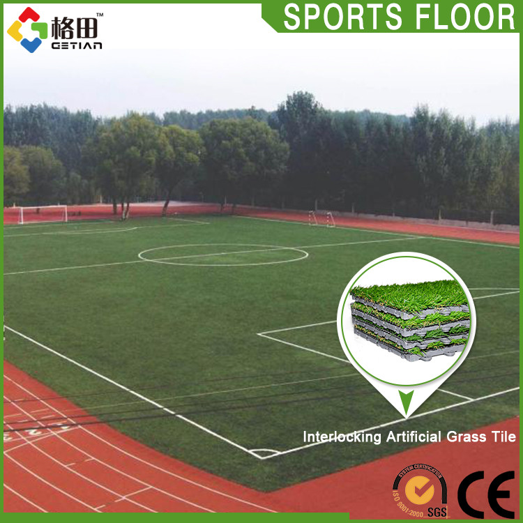 Top sale promotion portable interlocking synthetic turf shock pad