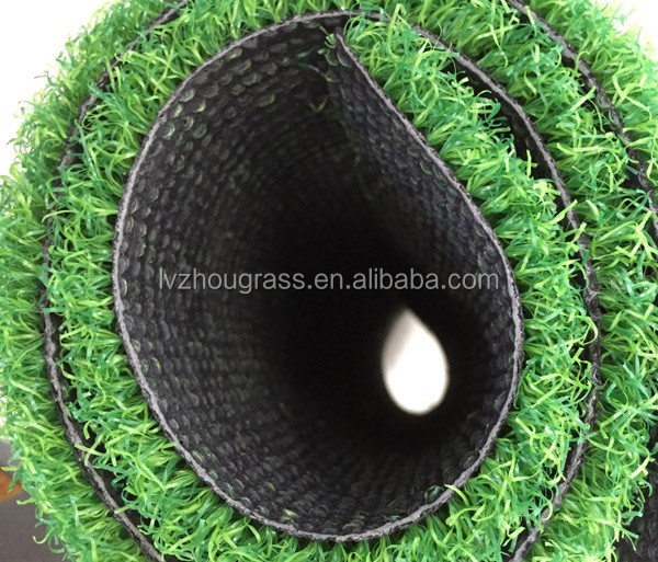 Gate ball turf Lvzhougrass Artificial colorful turf grass carpet LFN-55