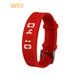 Smart RFID/NFC silicone rubber wristband digital sport wrist led pedometer watch with cheap price