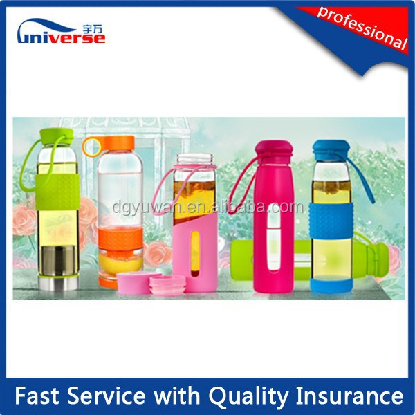 OEM Empty Plastic Mineral Lemon Water Bottle