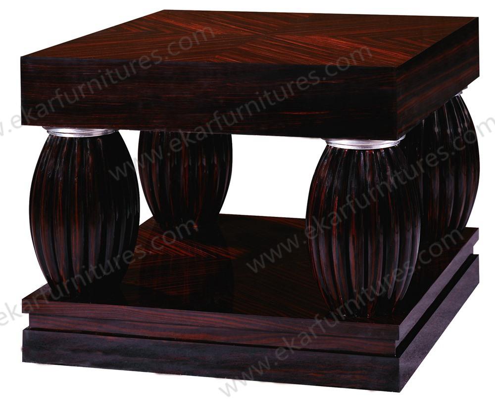 Haute brillant antique table d 39 appoint pour canap solide - Table pour canape ...