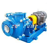 double casing mining sand slurry pump used in gold mining