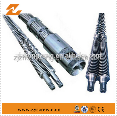 Bimetallic twin screw/High speed bimetallic twin screw/plastic extruder film extruder machine screw cylinder