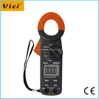 DM204 3 3/4 digital clamp meter manual