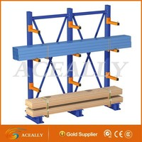 Free sample available cantilever warehouse racking, steel pipe storage rack, adjustable cantilever racking