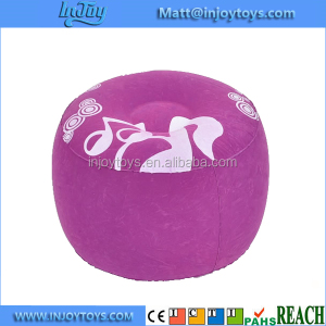 Kids Children's Air Filled Inflatable Cushion Stool Soft Seat