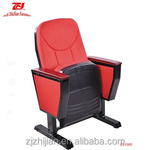New design theatre chair Modern auditorium seating price ZJ-1003