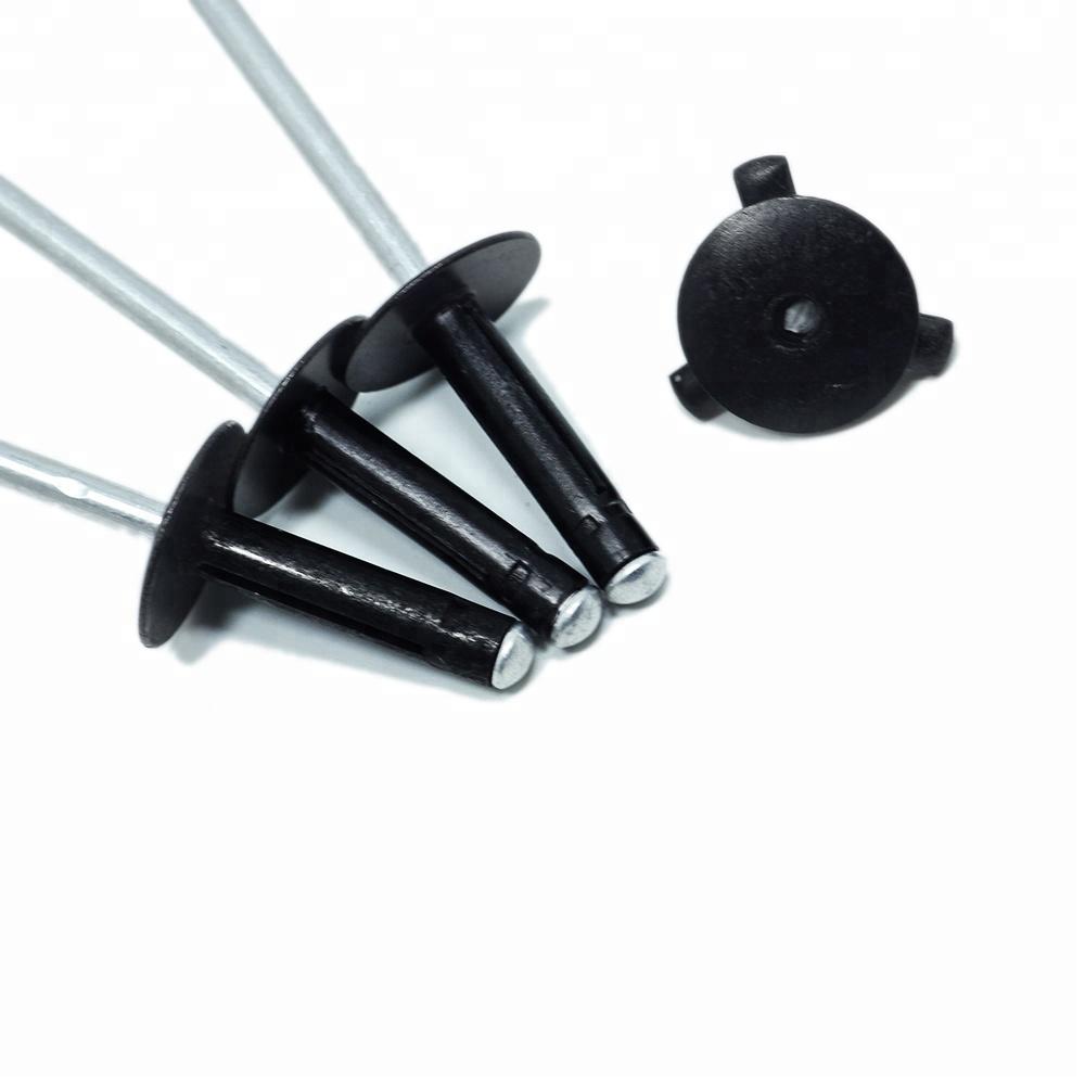 Blind Rivet Manufacturer Supply Colored And Sliver DIN7337 Open Type Domed Head Aluminium Blind Pop Rivets