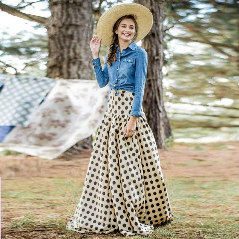0da04efee Moda  Las faldas largas moda libre
